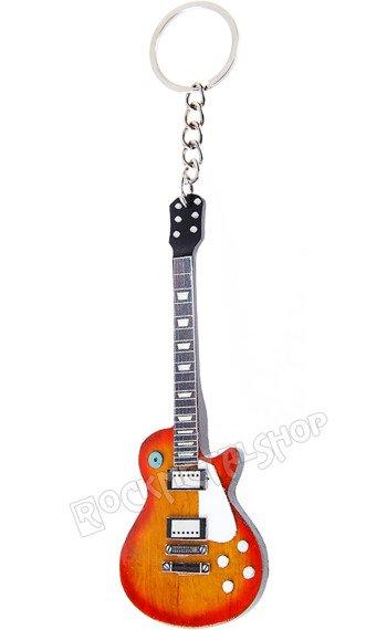 brelok / miniaturka gitary LED ZEPPELIN - JIMMY PAGE: LES PAUL CUSTOM