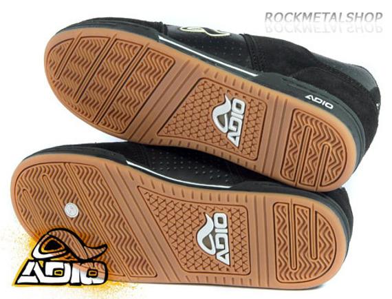 buty ADIO - SNAP (BLACK/SNAKE/SKULL)
