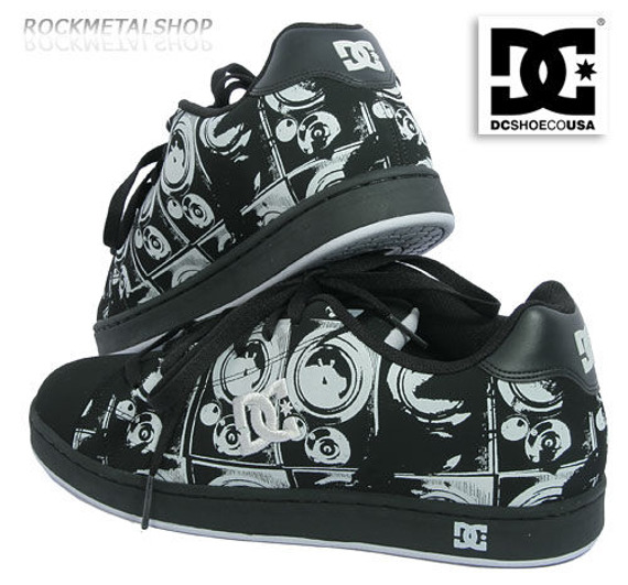 buty DC - CHARACTER black/armor [nr 432781]