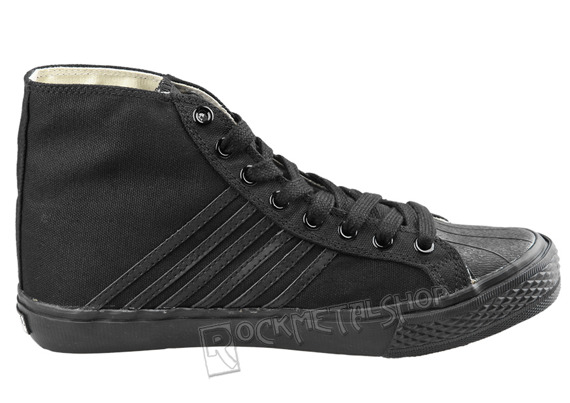 buty DRAVEN - CANVAS HIGH black/black (MCDP02)