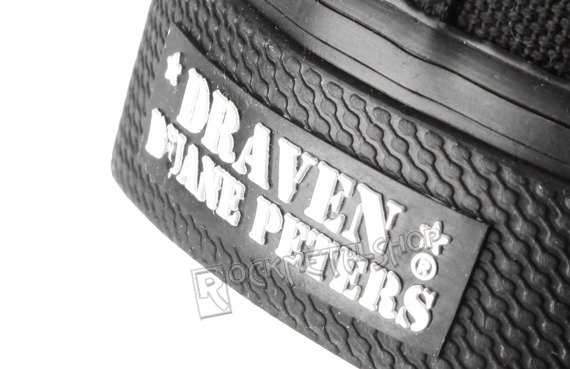 buty DRAVEN - CANVAS LOW black/black
