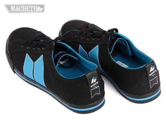 buty MACBETH - ELIOT (BLACK/TEAL) 09'