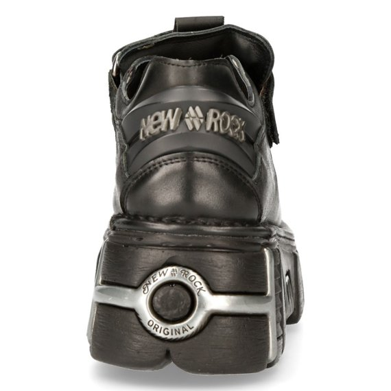 buty NEW ROCK Itali y Nomada Negro Tower Negro Acero [M.131-S1]