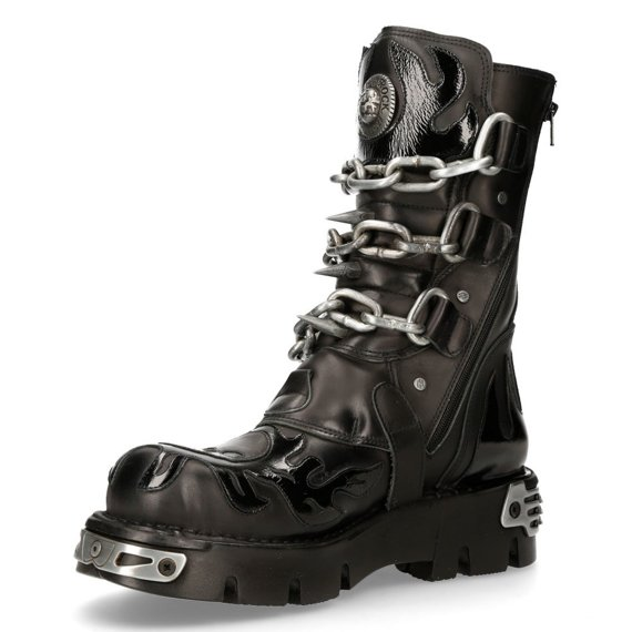 buty NEW ROCK TOWER NEGRO ACERO [M.727 - S1]