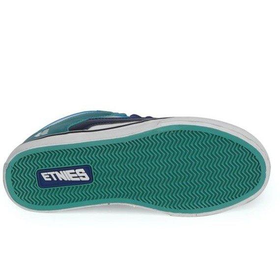 buty damskie ETNIES - RVM (BLUE/GREEN)