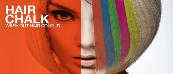 cień/kreda koloryzujaca do włosów VIOLET/ FIOLETOWY