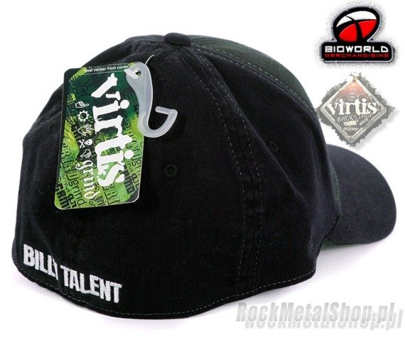 czapka BILLY TALENT - Brushed Cotton With Print
