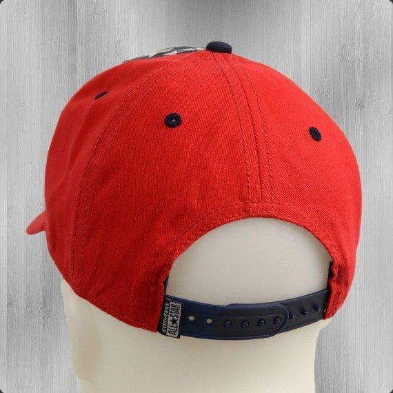 czapka CONVERSE - SNAPBACK ALL STAR NAVY/RED