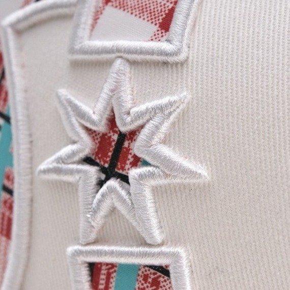 czapka DC - PLAID (WHITE)