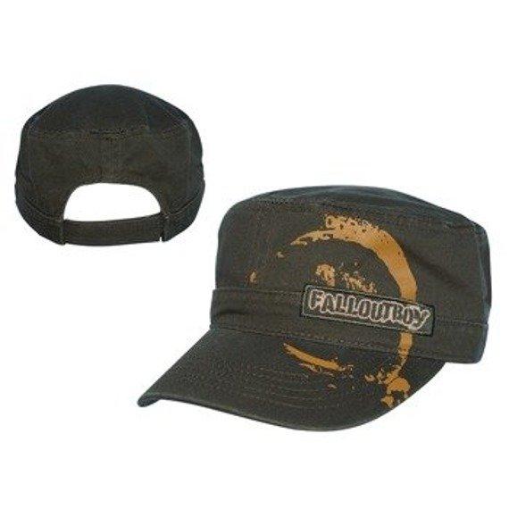 czapka FALL OUT BOY - Brown Canvas Cadet