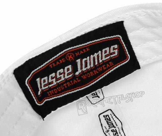 czapka JESSE JAMES - LOGO czarno-biała