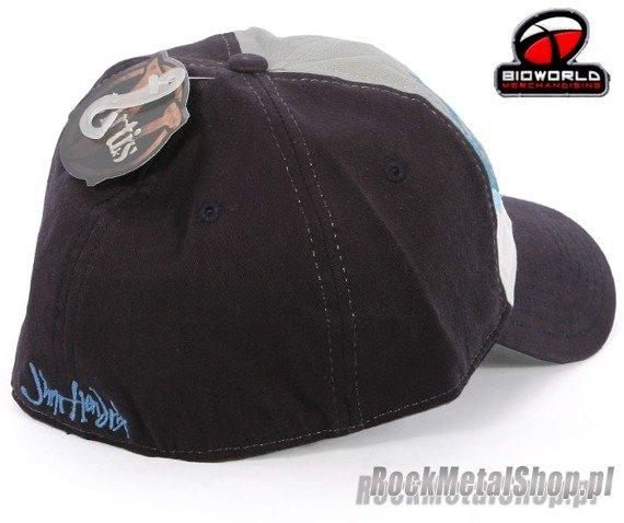 czapka JIMI HENDRIX Navy Print Flex Cap