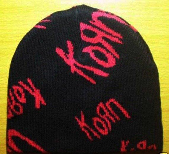 czapka KORN - LOGO