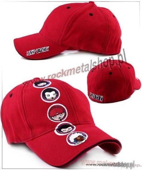 czapka LIMP BIZKIT - RED FACES