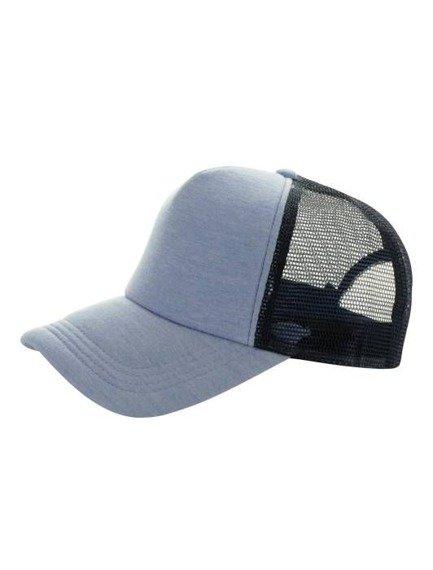 czapka MASTERDIS - BASEBALL CAP JERSEY TRUCKER, ht. indigo/navy