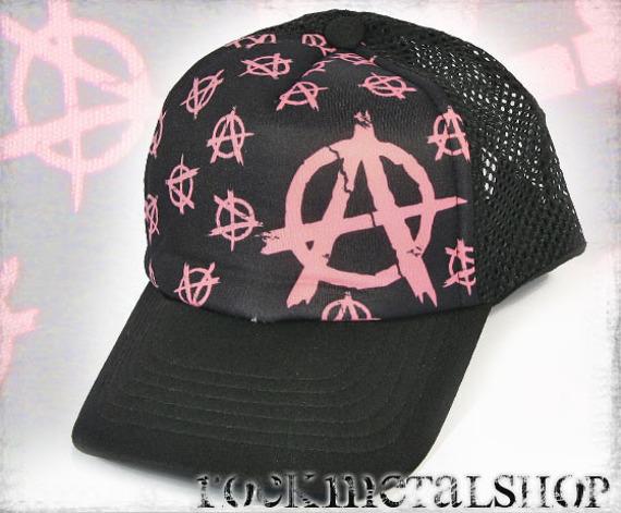 czapka PINK ANARCHY  (z)