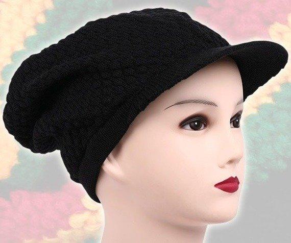 czapka RASTA czarna