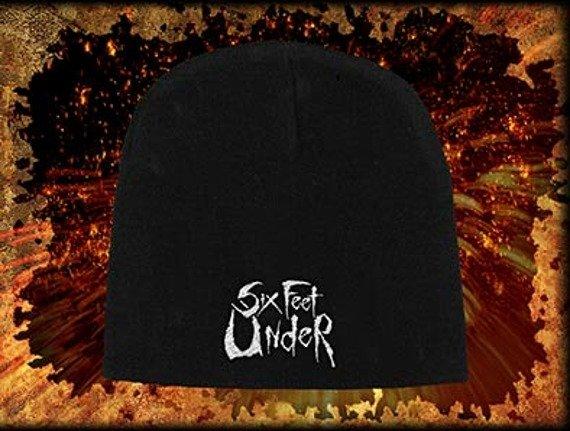 czapka SIX FEET UNDER - LOGO, zimowa