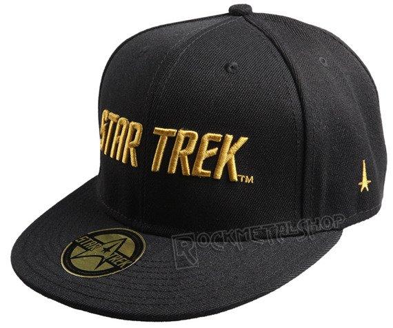 czapka STAR TREK - GOLDEN TEXT czarna