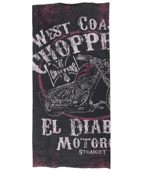 czapka/szalik WEST COAST CHOPPERS - EL DIABLO