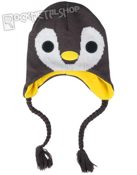 czapka zimowa FREAKS AND FRIENDS - GREY BIRD LAPLANDER