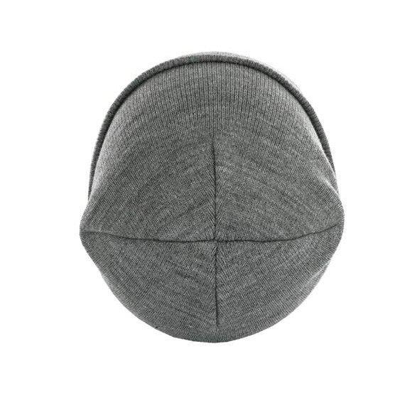 czapka zimowa MASTERDIS - BEANIE BASIC FLAP ht.grey