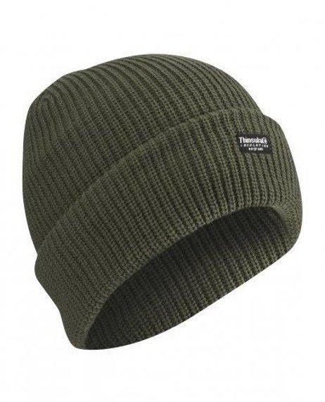 czapka zimowa ZIELONA THINSULATE