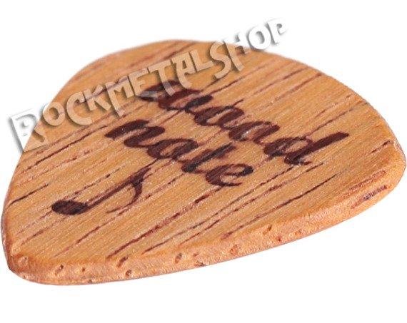 drewniana kostka do gitary WOODNOTE Tearwood - MERBAU