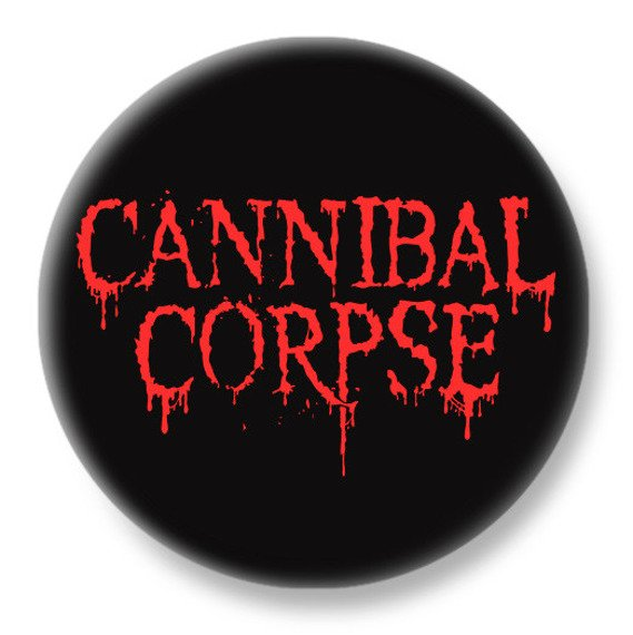 duży kapsel CANNIBAL CORPSE - NEW RED LOGO