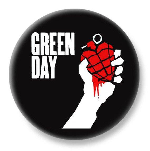 duży kapsel GREEN DAY - AMERICAN IDIOT