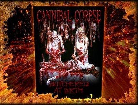 ekran CANNIBAL CORPSE - BUTCHERED AT BIRTH
