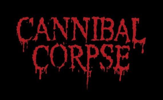 ekran CANNIBAL CORPSE - NEW RED LOGO
