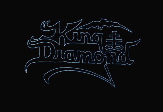 ekran KING DIAMOND - BLUE LOGO
