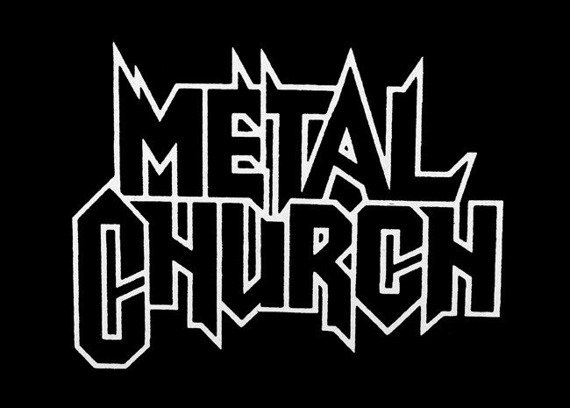 ekran METAL CHURCH - LOGO