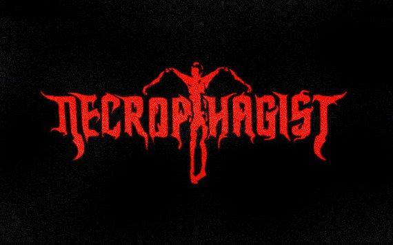 ekran NECROPHAGIST - RED LOGO