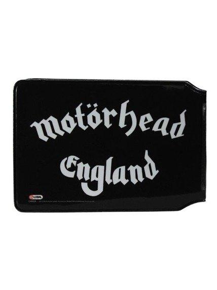 etui na kartę kredytową MOTORHEAD - ENGLAND