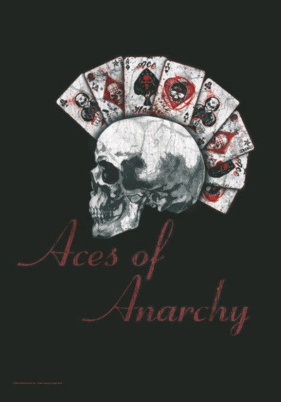 flaga ALCHEMY - UL13 - ACES OF ANARCHY