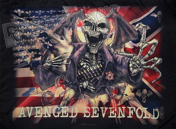 flaga AVENGED SEVENFOLD - CONFEDERATE