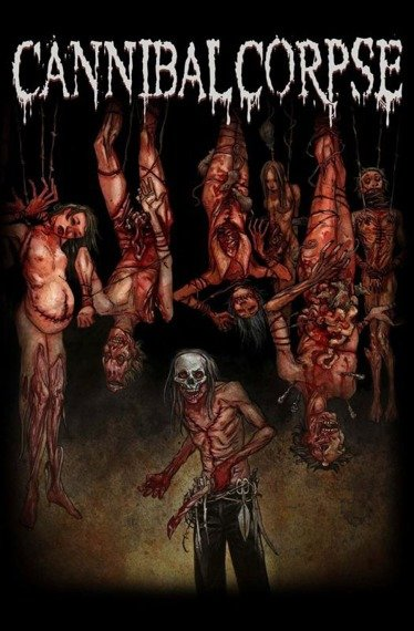 flaga CANNIBAL CORPSE - TORTURE