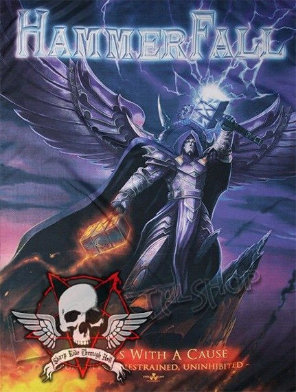flaga HAMMERFALL - REBEL WITH A CAUSE