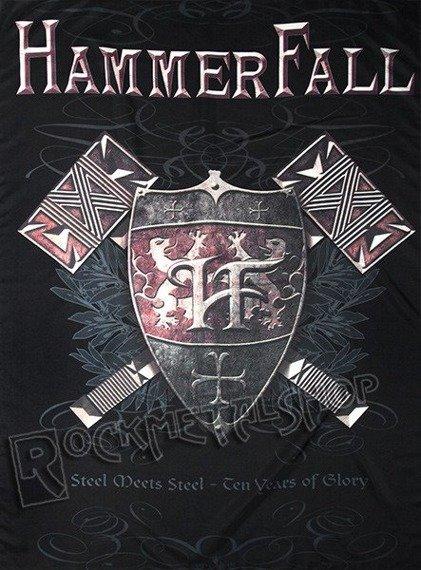 flaga HAMMERFALL - STEEL MEETS STEEL