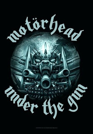 flaga MOTORHEAD - UNDER THE GUN