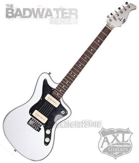 gitara elektryczna AXL MARQUEE MJZ / METALLIC SILVER