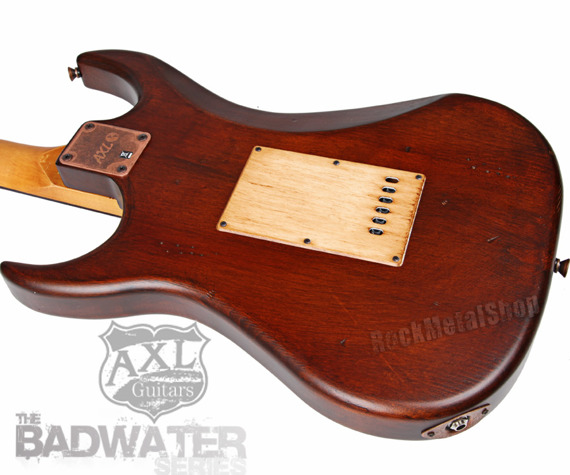 gitara elektryczna AXL SRO BADWATER / BROWN