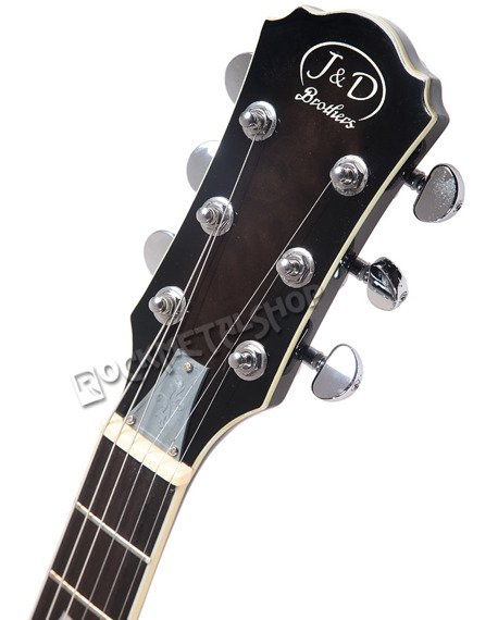 gitara elektryczna J&D BROTHERS LP STYLE Quilted Maple LP1000QM BK