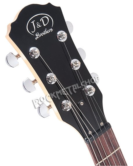 gitara elektryczna J&D BROTHERS z wbudowanym wzmacniaczem JD-AMP