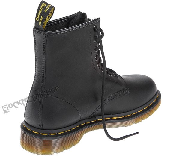glany DR. MARTENS - DM 1460 BLACK GREASY