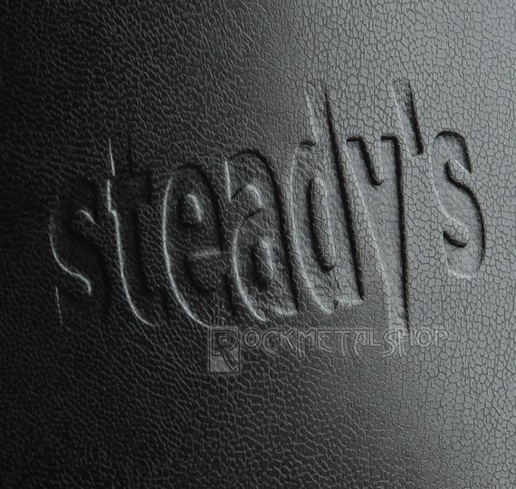 glany STEADY'S - 6 dziurek, czarne (STE/6)