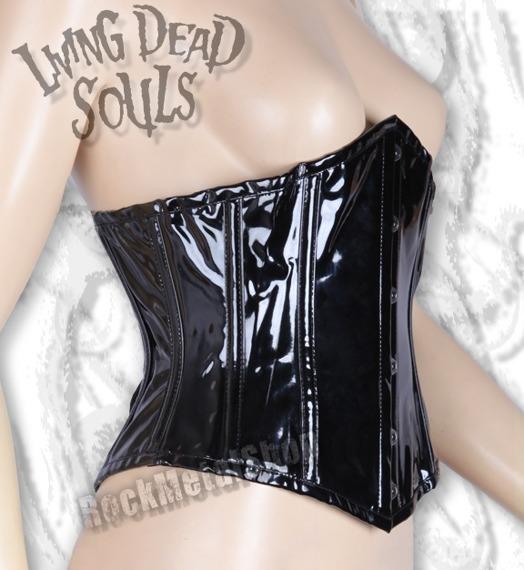 gorset LIVING DEAD SOULS (BLACK)
