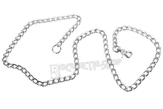 gruby łańcuch do kluczy/portfela (100 cm) z karabińczykiem NR 2